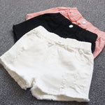 Baby girls shorts jeans