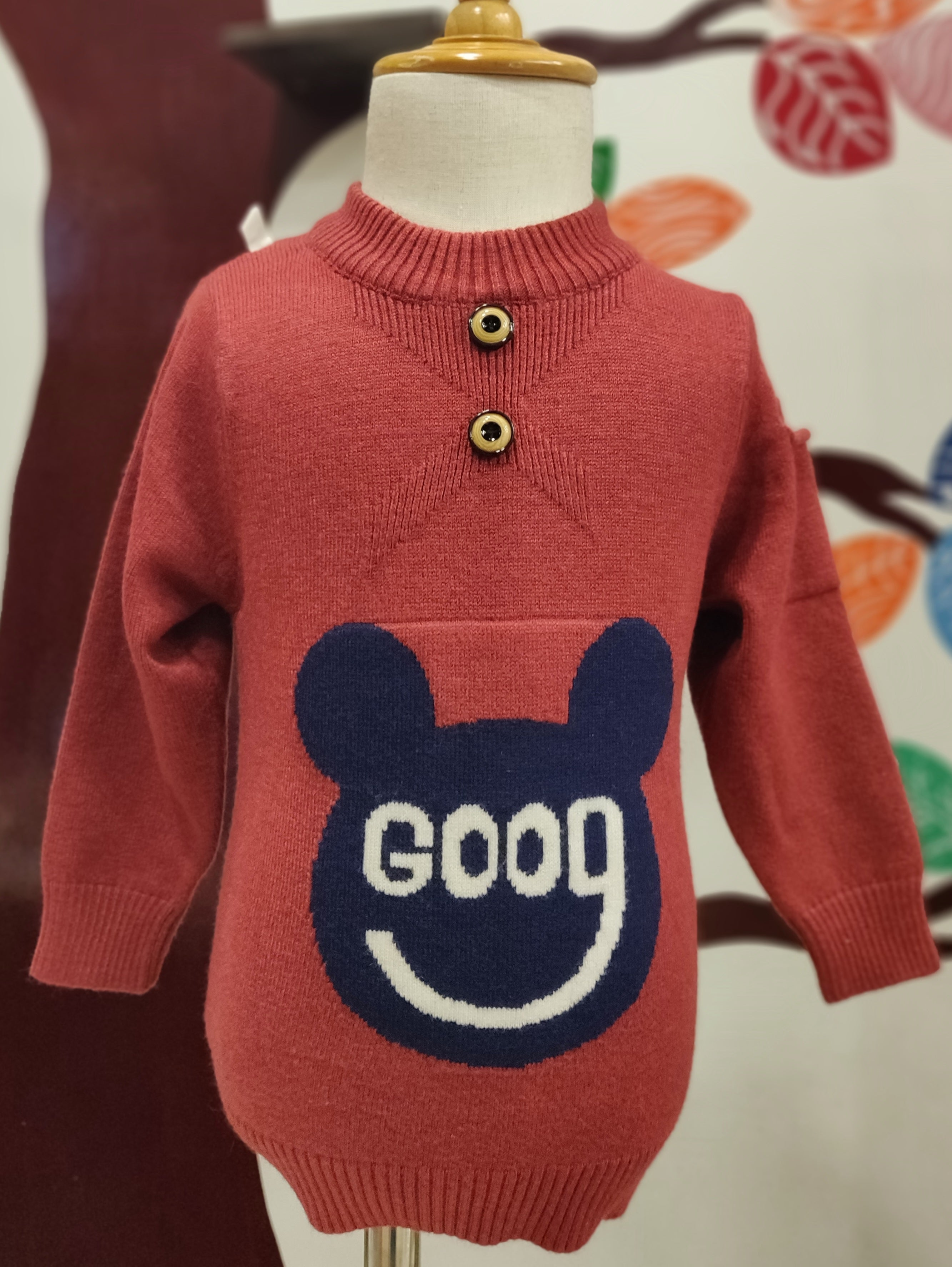 Cartoon Kids Sweaters