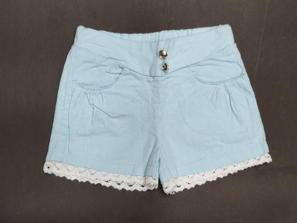 Cotton shorts For Girls