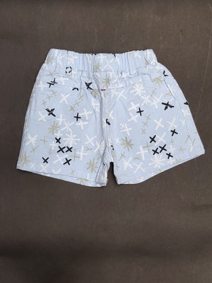 Printed Cotton Shorts For Girls