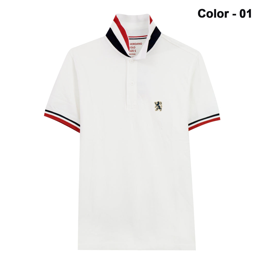 Men 3d Lion Embroidery Polo Giordanomm
