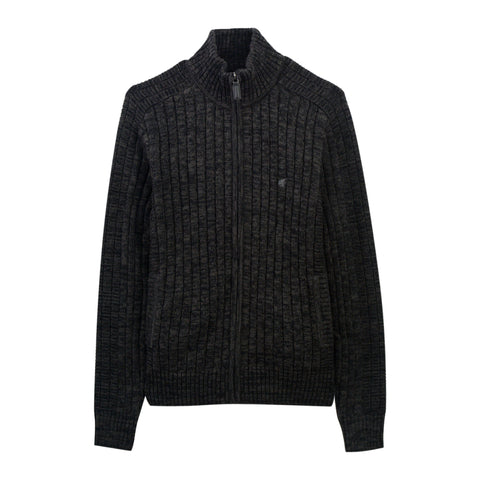 Men Jacquard half-turtleneck sweater