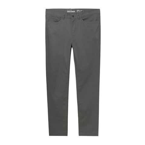 Men Stretchy Mid Rise Regular Tapered Khakis