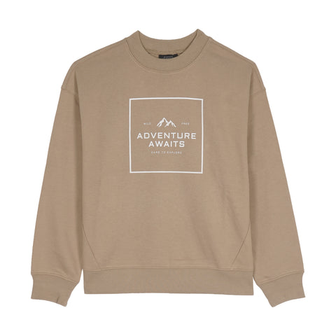 Adventure Awaits Women Sweatshirt