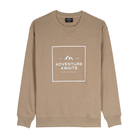 Adventure Awaits Men Sweatshirt