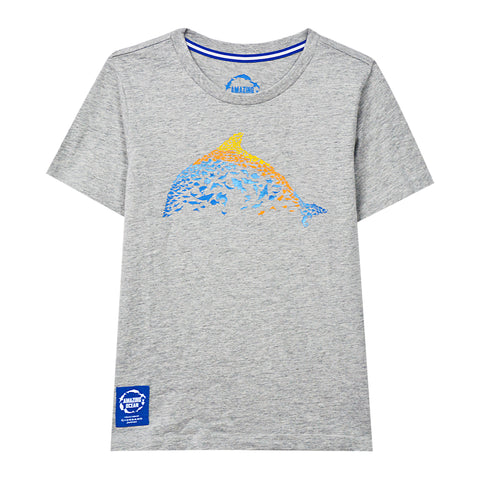 GIORDANO Junior Crew Neck Short Sleeve Print Tee