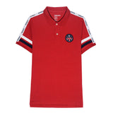 Men Union Jack Embroidery Polo