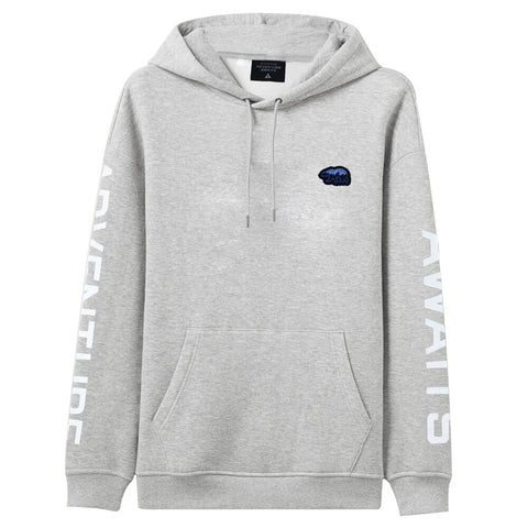 Adventure Awaits Men Hoodie