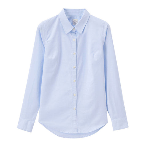 Women Oxford Long Sleeves Shirt