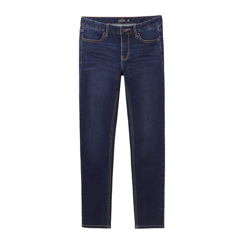 Women Stretchy Slim Mid Rise Jeans