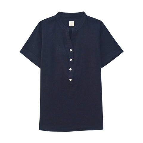 Women Linen Cotton Shirt