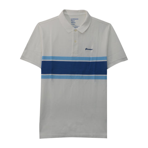 Men Stripe Polo