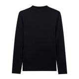 Women Ribbed Mockneck Tee