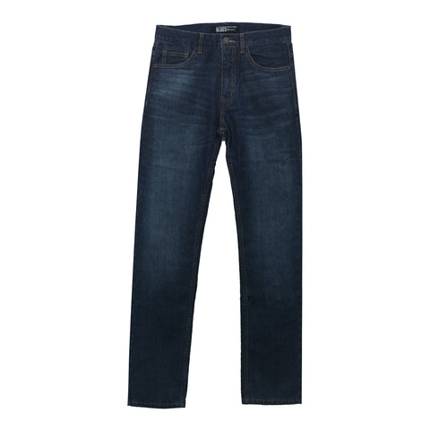 Men Mid Rise Regular Tapered Jeans