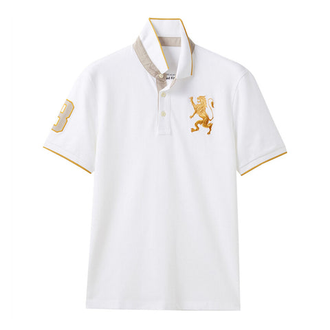 Men Lion Polo