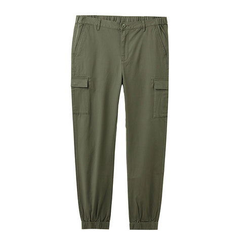 Men Stretchy Cargo Jogger Pants