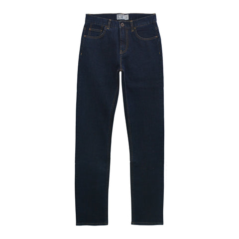 Men Ultra Thin Mid Rise Regular Tapered Jeans