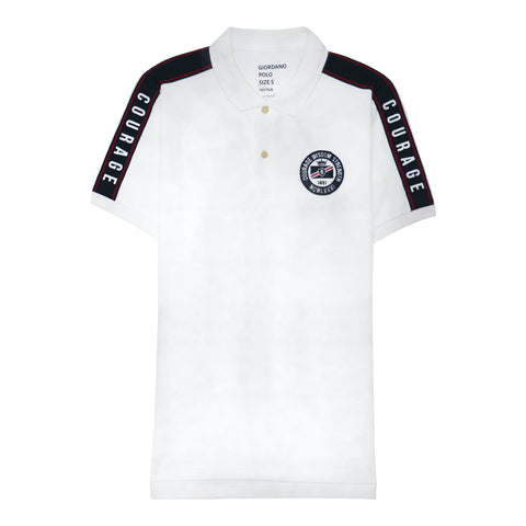 Men's Cotton/Lycra Pique Short Sleeve Embroidery Polo