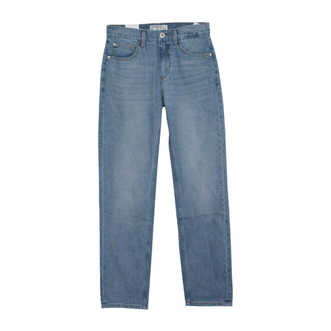 Men Mid Rise Relaxed Straight Pants