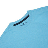 Men Solid Smart Tee