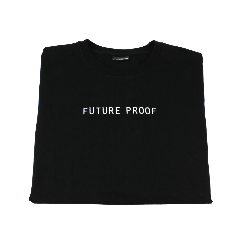 Black Future Proof T-Shirt