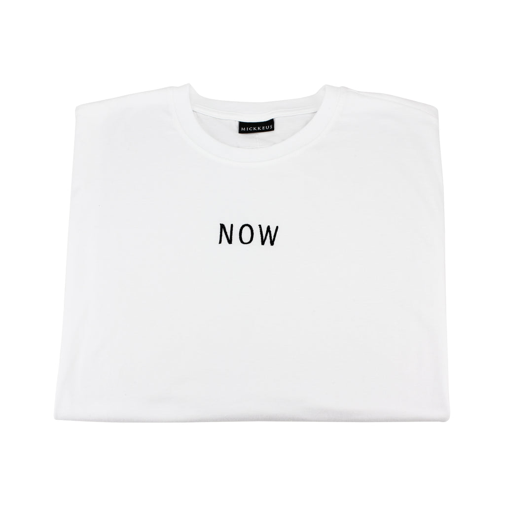 White NOW T-Shirt