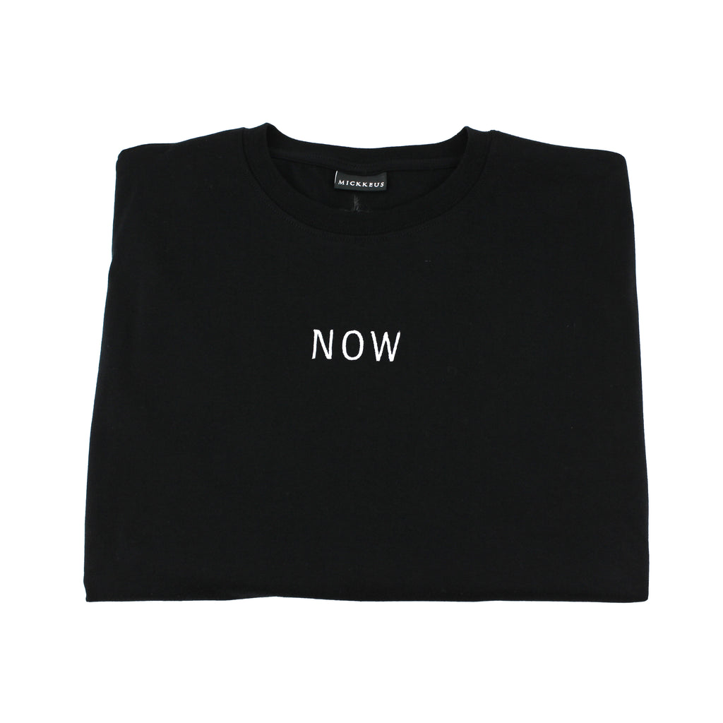 Black NOW T-Shirt