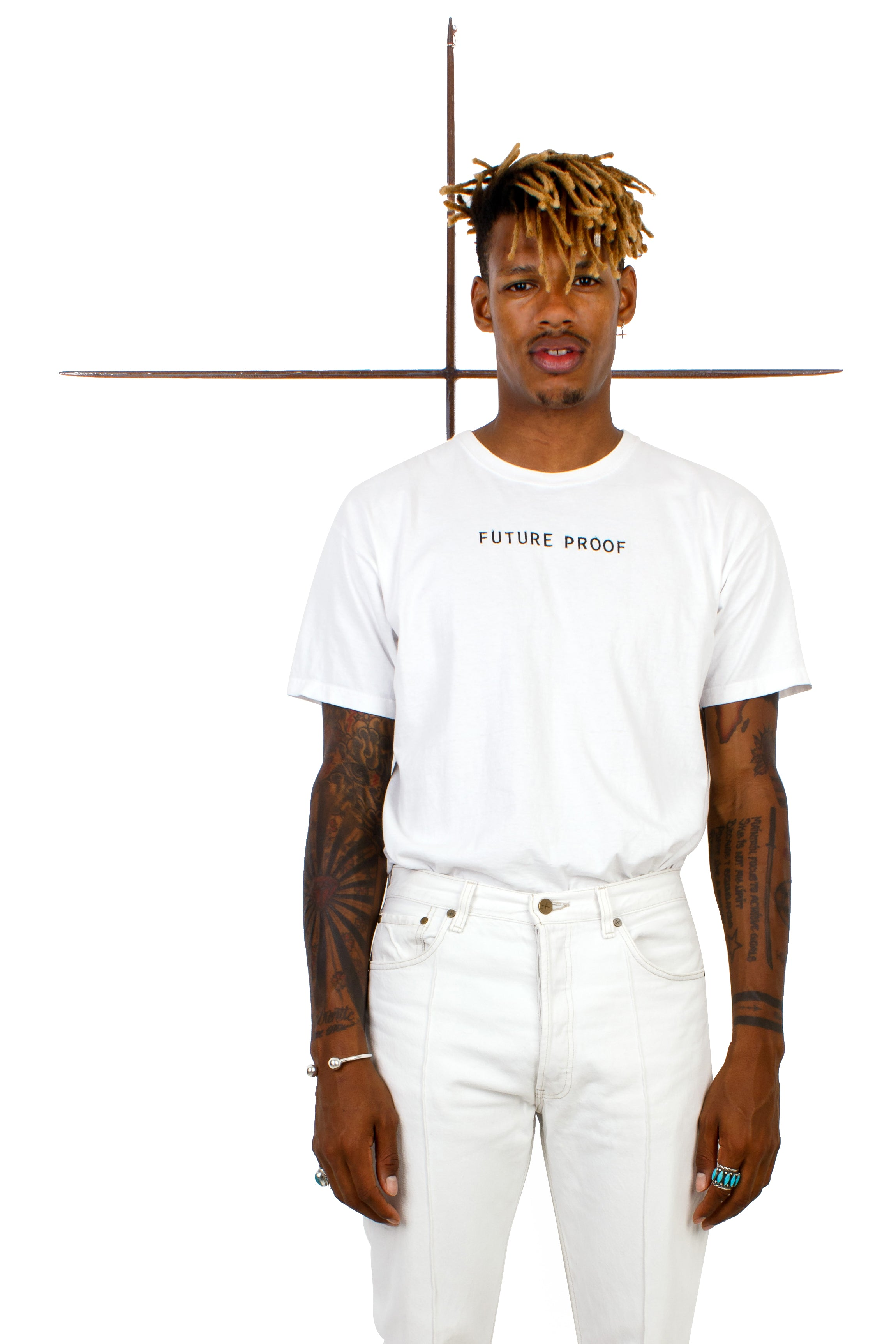 White Future Proof T-Shirt