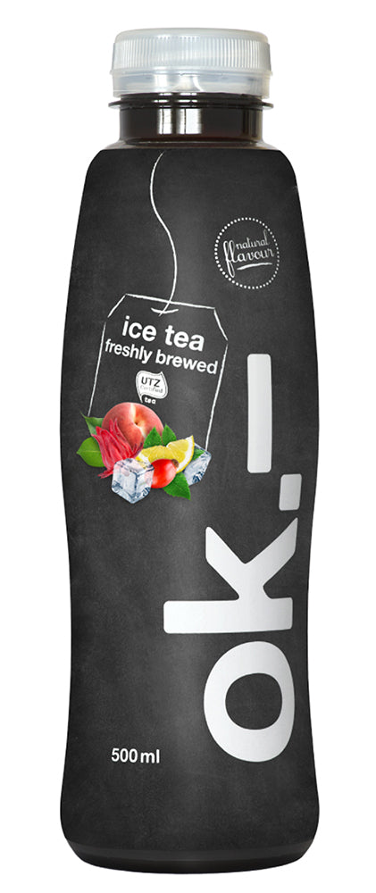 ok.– ice tea freshly brewed