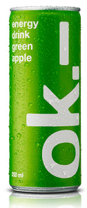 ok.– energy drink green apple
