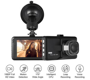 "3"" LCD  Car Safety Dash Cam Video Recorder"