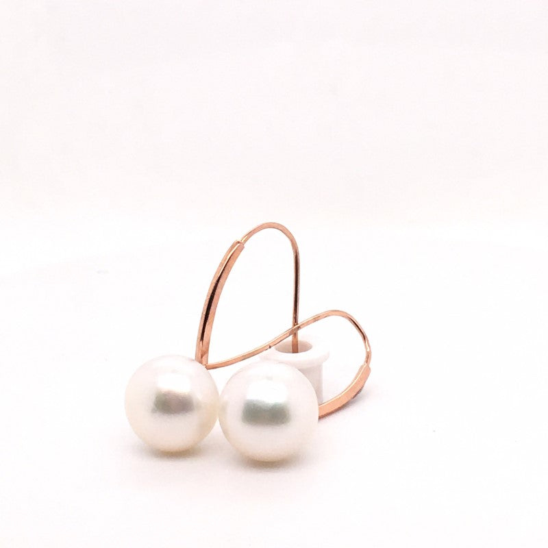 9CT RG STH SEA 12-12.5MM DROP EAR
