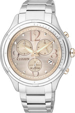 LADIES ECO-DRIVE BRLT SSWP WR50 (O)