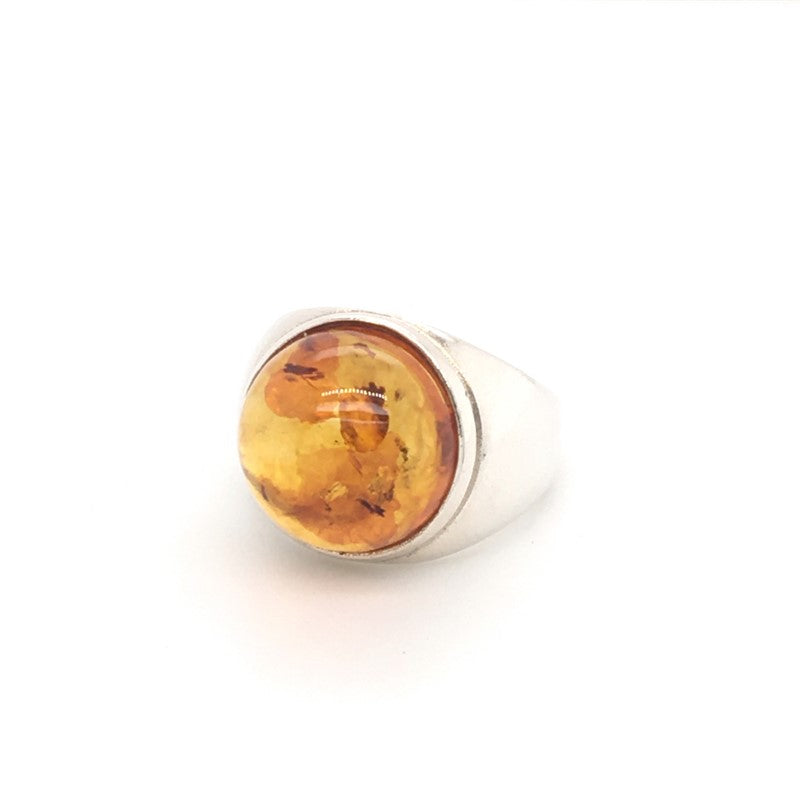 SS LR CAB AMBER RING