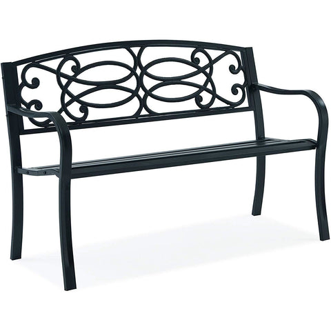 Cast Iron 'Fancy Regal' Garden Bench