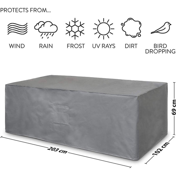 Premium Rectangle Patio Table Cover