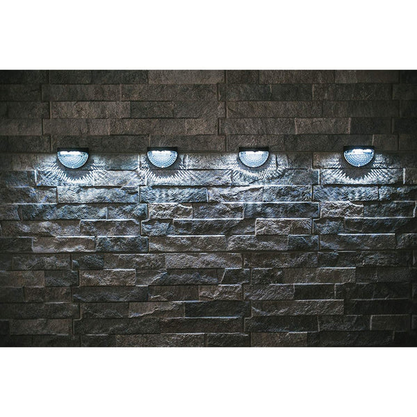 Pack of 4 Solar Fence Lights