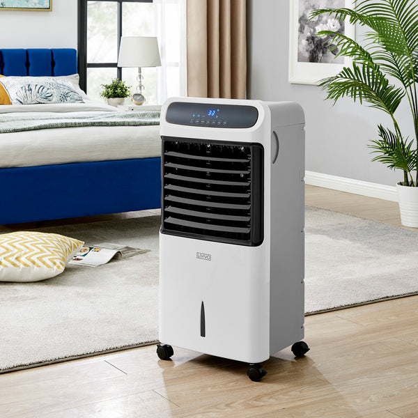 12L Digital Air Cooler with LED Display and Remote Control 80W