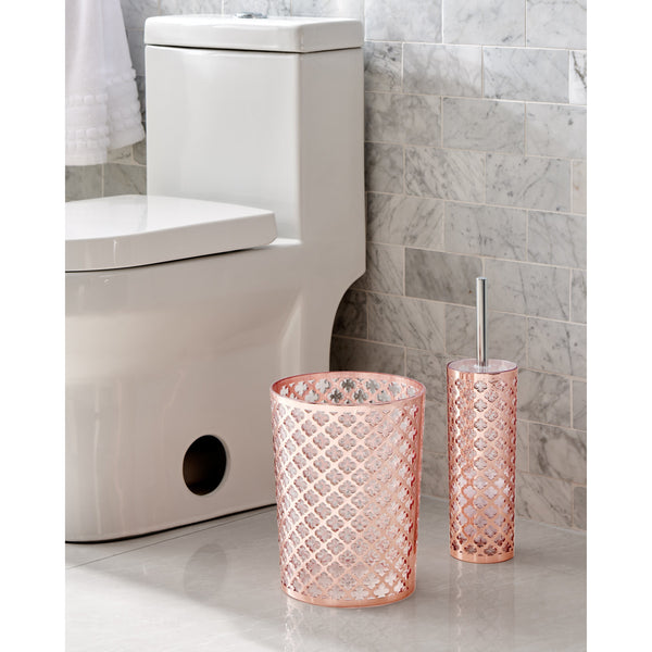 Rose Gold 6 Piece Bathroom Set