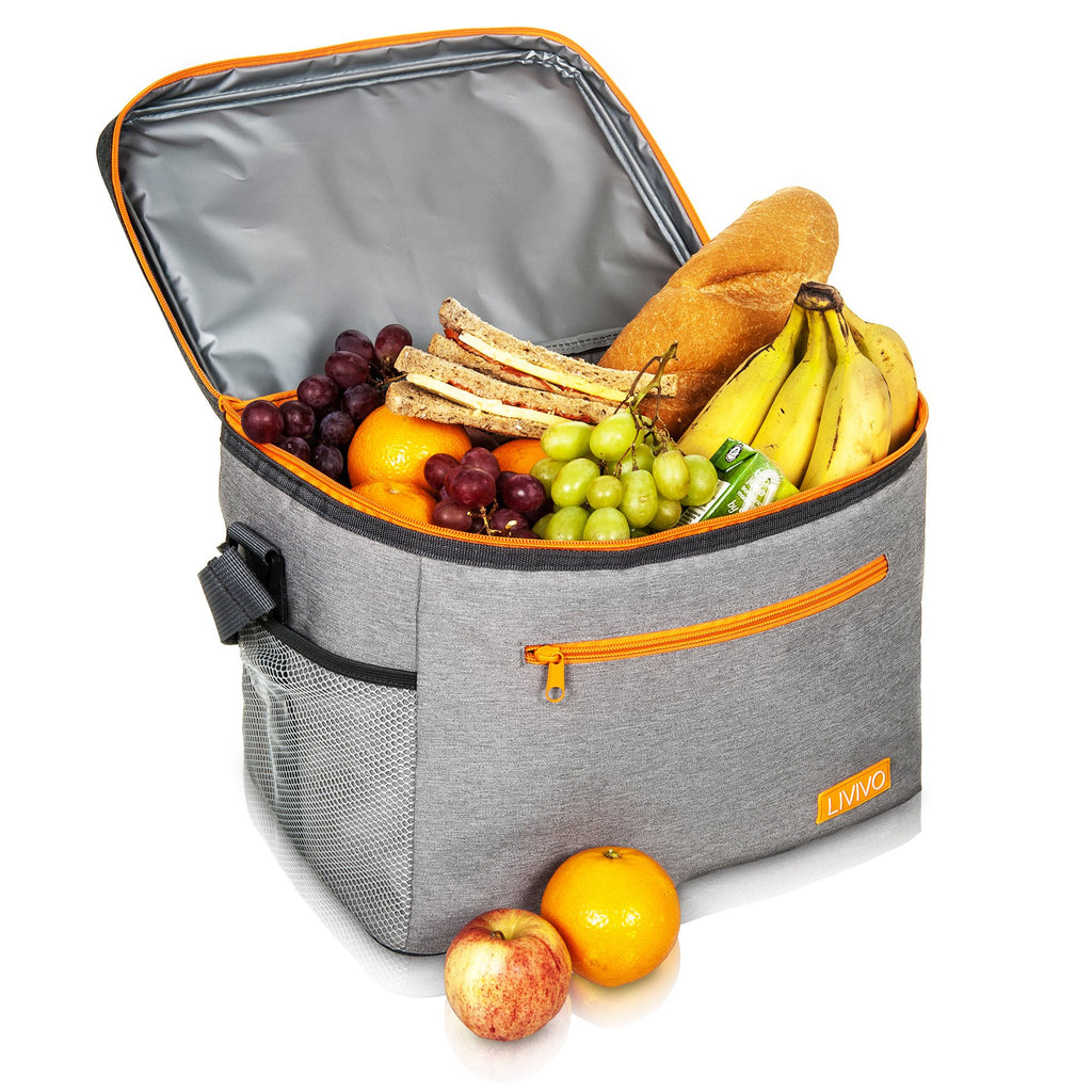 20L Premium Lunch Cool Bag With Carry Handle
