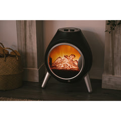 Retro Log Electric Fire Heater