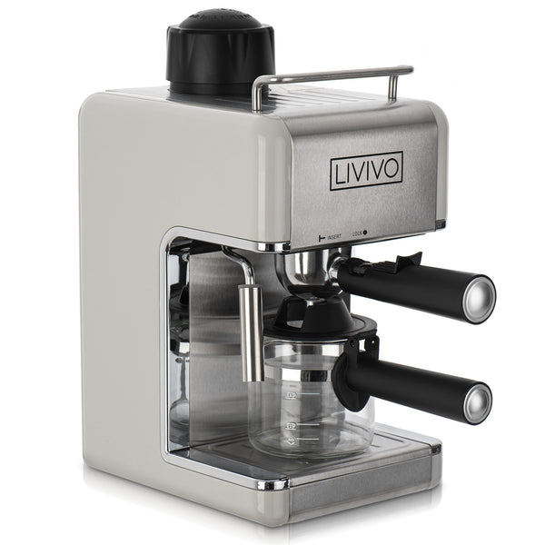 Professional Espresso Cappuccino Coffee Machine Grey