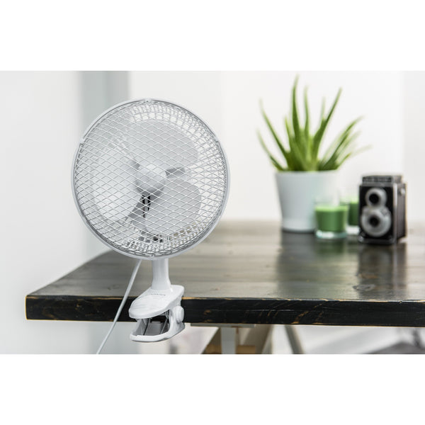 6'' Electric Desk & Clip Fan