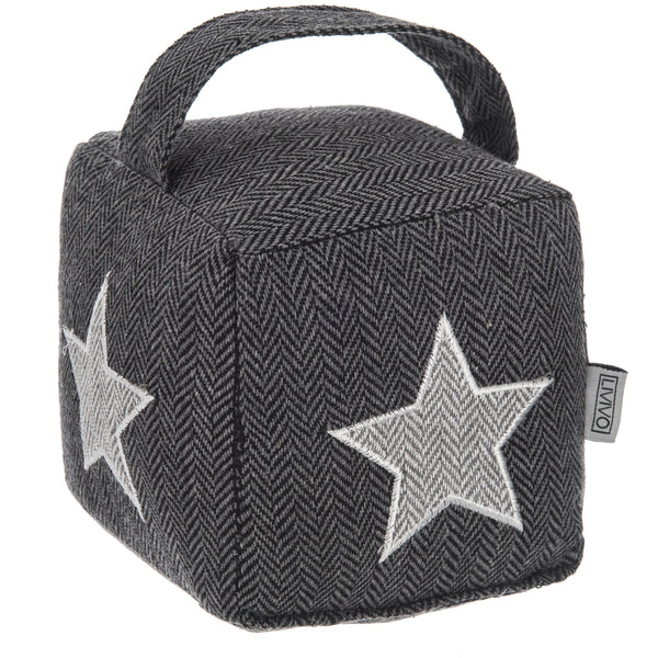 Weighted Cube Door Stopper Star
