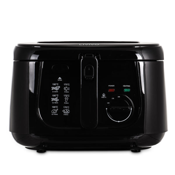 2.5L Electric Deep Fat Fryer Non-Stick Coating Black