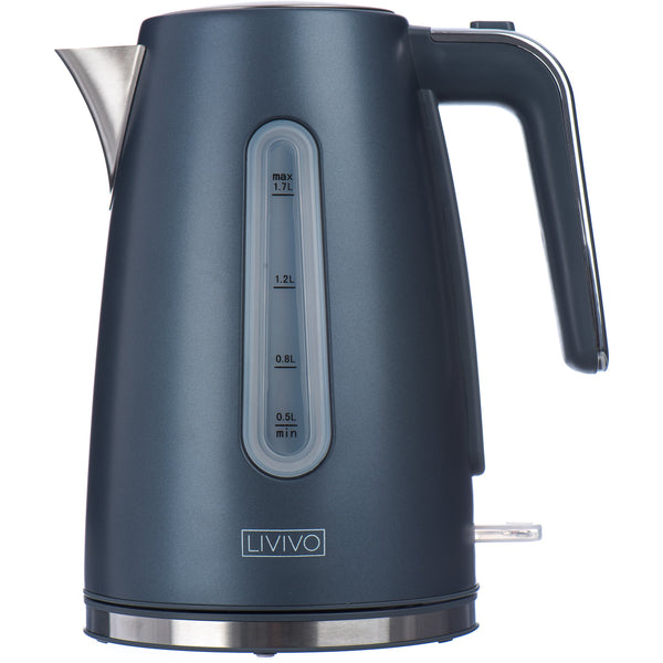 Arian 1.7L Stainless Steel Kettle with Mirrored Accents