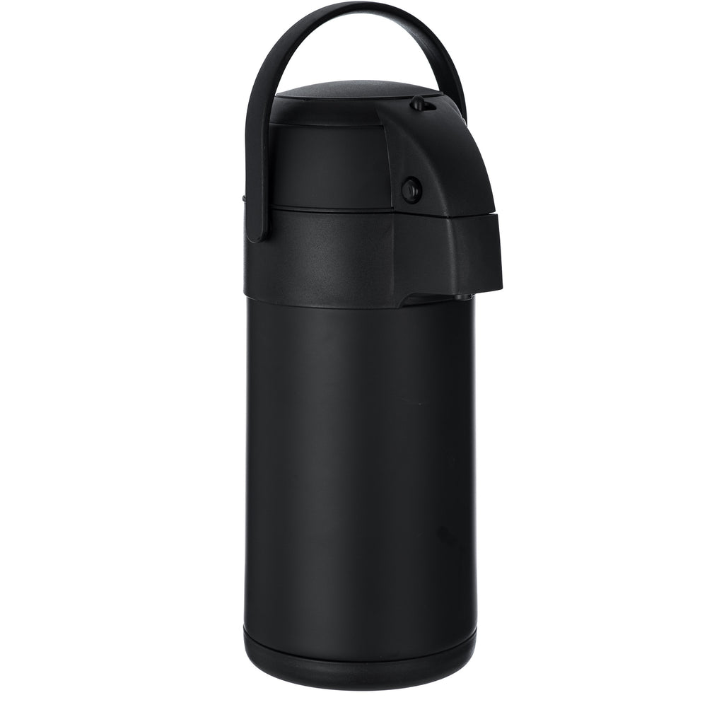 3L Pump Action Vacuum Flask Black