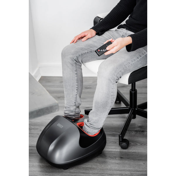 Electric Shiatsu Foot Massager With Remote