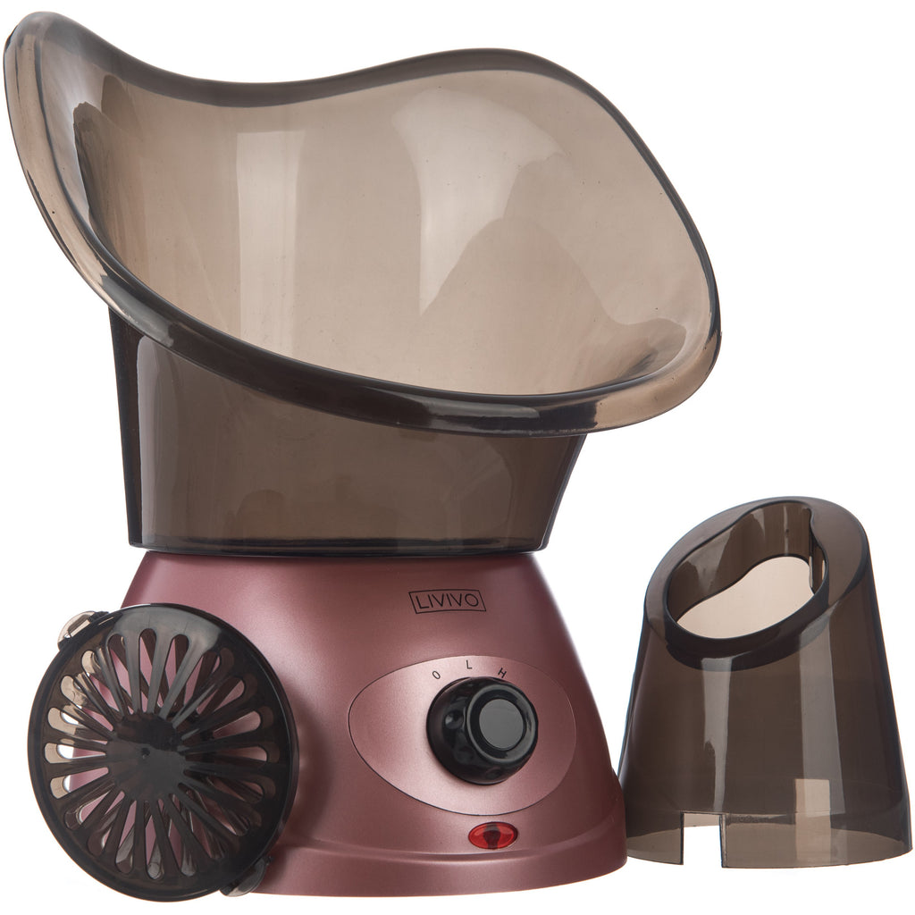 Facial Steamer Black/Rose Gold