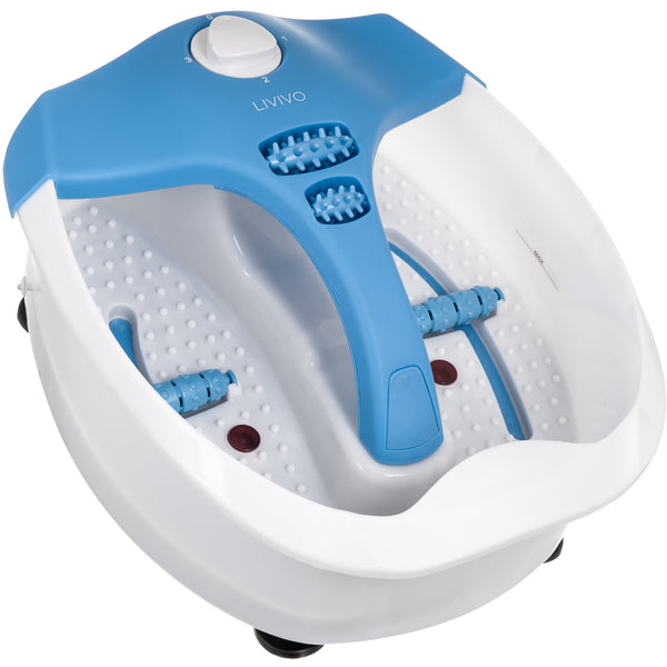 Deluxe Multi-Function Foot Spa Blue